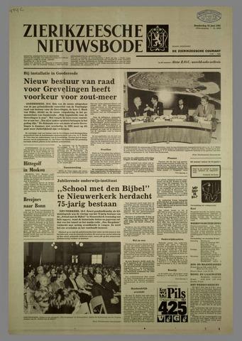 Zierikzeesche Nieuwsbode 1981-06-25