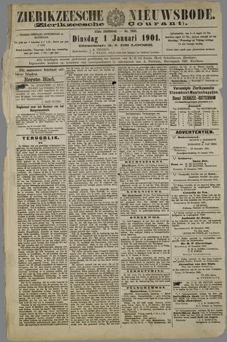 Zierikzeesche Nieuwsbode 1901-01-01