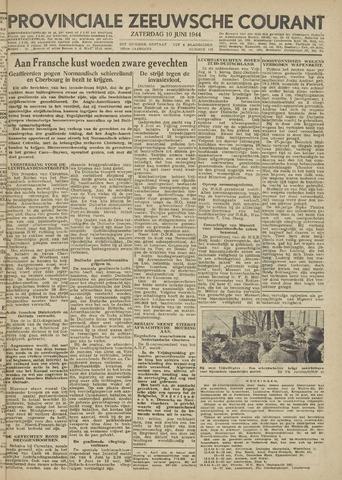 Provinciale Zeeuwse Courant 1944-06-10