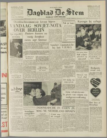 de Stem 1958-11-22