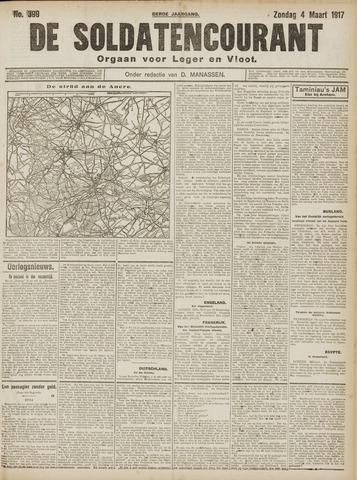 De Soldatencourant. Orgaan voor Leger en Vloot 1917-03-04