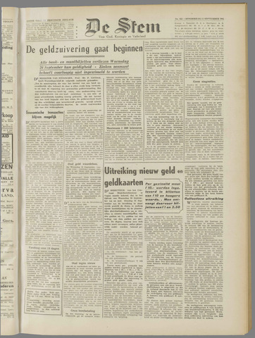 de Stem 1945-09-13