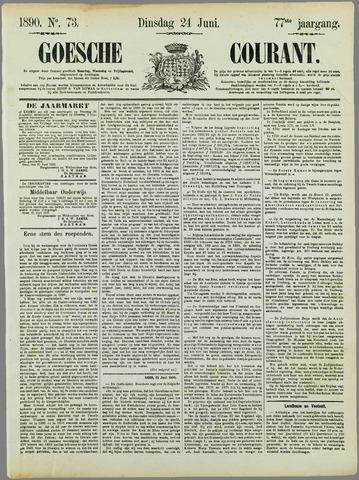 Goessche Courant 1890-06-24