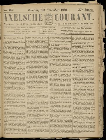 Axelsche Courant 1921-11-12