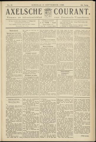 Axelsche Courant 1928-09-11