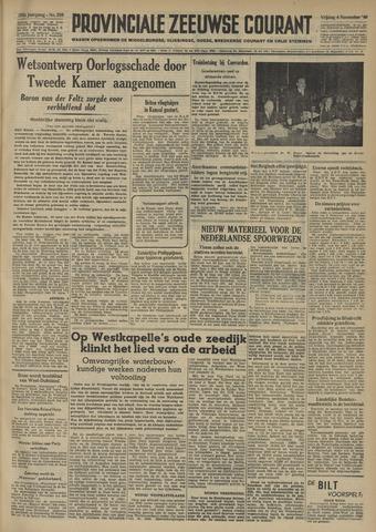 Provinciale Zeeuwse Courant 1949-11-04