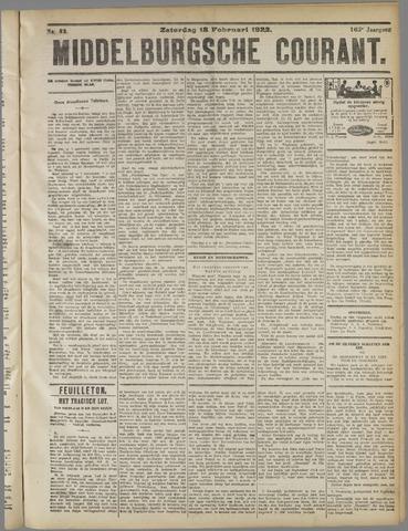 Middelburgsche Courant 1922-02-18