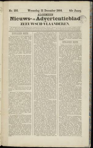 Ter Neuzensche Courant. Algemeen Nieuws- en Advertentieblad voor Zeeuwsch-Vlaanderen / Neuzensche Courant ... (idem) / (Algemeen) nieuws en advertentieblad voor Zeeuwsch-Vlaanderen 1864-12-21
