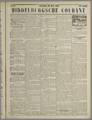 Middelburgsche Courant 1919-05-20
