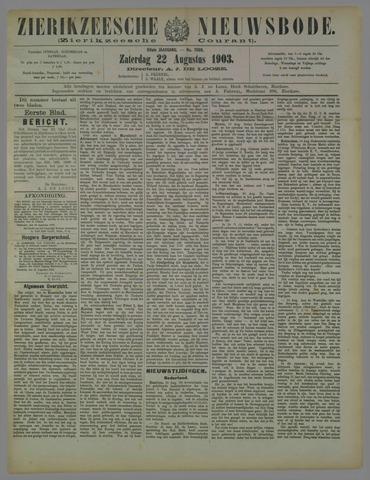 Zierikzeesche Nieuwsbode 1903-08-22