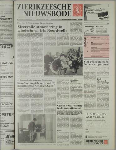 Zierikzeesche Nieuwsbode 1991-02-25