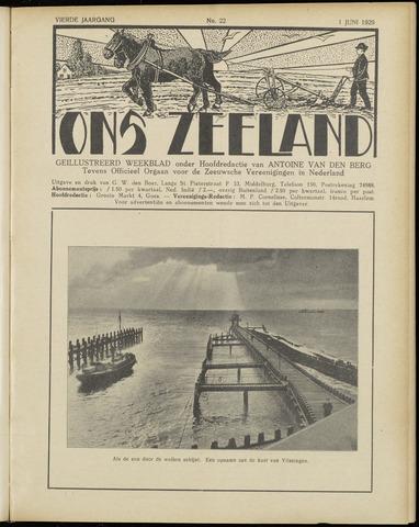 Ons Zeeland / Zeeuwsche editie 1929-06-01