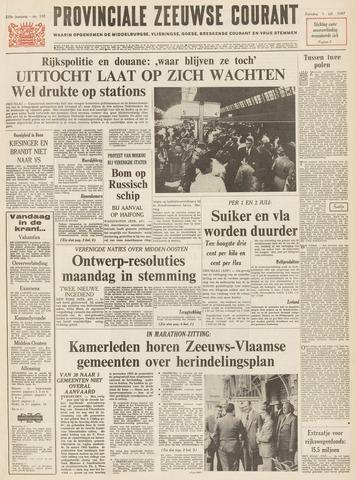 Provinciale Zeeuwse Courant 1967-07-01