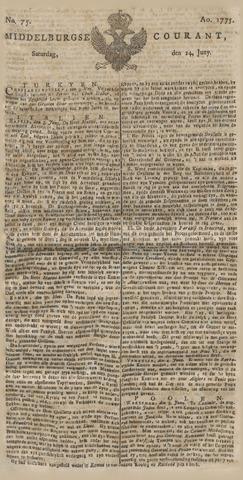 Middelburgsche Courant 1775-06-24