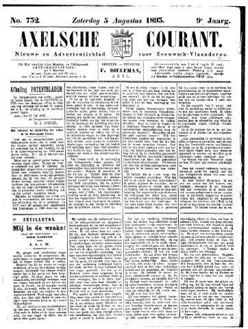 Axelsche Courant 1893-08-05