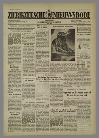 Zierikzeesche Nieuwsbode 1954-10-02