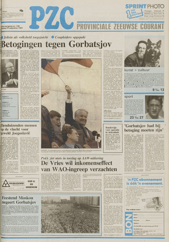Provinciale Zeeuwse Courant 1991-08-23