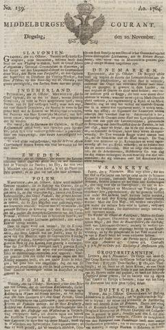 Middelburgsche Courant 1764-11-20