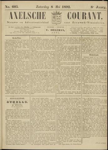 Axelsche Courant 1892-05-07