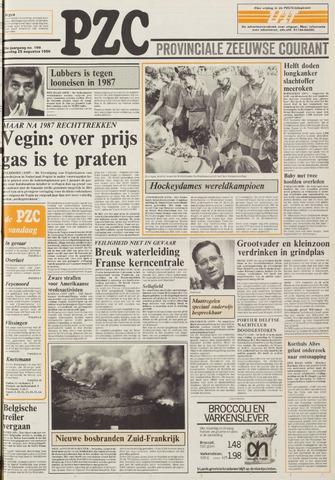 Provinciale Zeeuwse Courant 1986-08-25