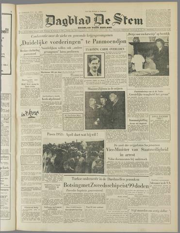 de Stem 1953-04-07