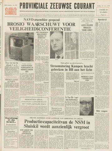 Provinciale Zeeuwse Courant 1970-11-10