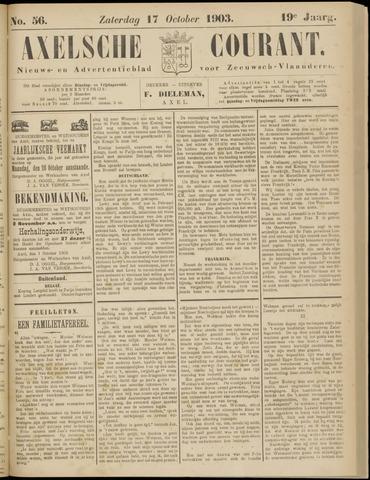 Axelsche Courant 1903-10-17