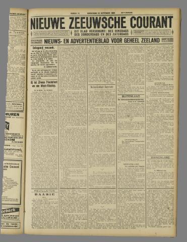 Nieuwe Zeeuwsche Courant 1926-09-23