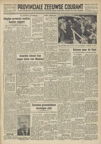 Provinciale Zeeuwse Courant 1947-09-13
