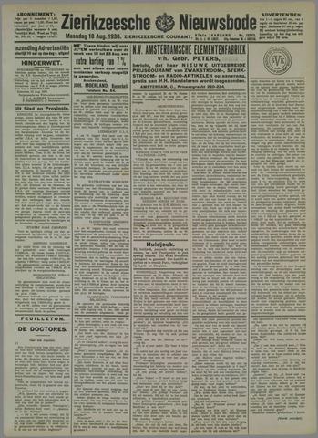 Zierikzeesche Nieuwsbode 1930-08-18
