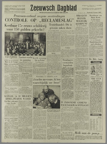 Zeeuwsch Dagblad 1959-01-08