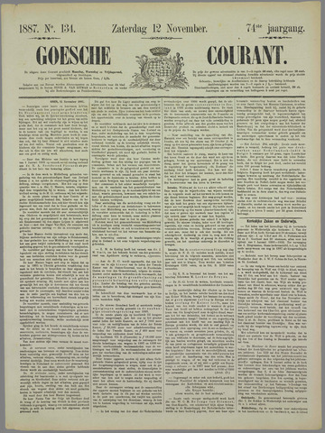 Goessche Courant 1887-11-12
