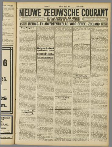 Nieuwe Zeeuwsche Courant 1929-05-14