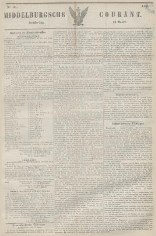 Middelburgsche Courant 1851-03-13