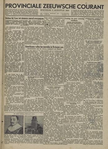 Provinciale Zeeuwse Courant 1944-08-09