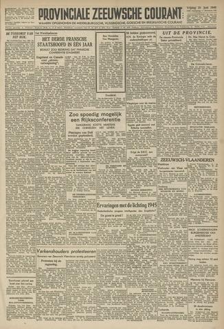 Provinciale Zeeuwse Courant 1946-06-21