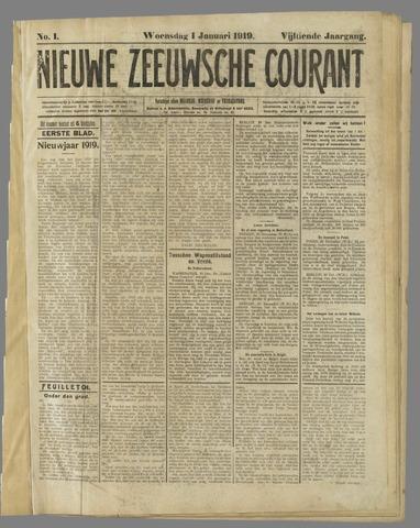 Nieuwe Zeeuwsche Courant 1919-01-01