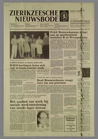 Zierikzeesche Nieuwsbode 1985-02-26