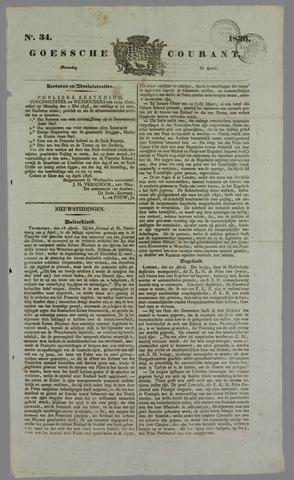 Goessche Courant 1836-04-25