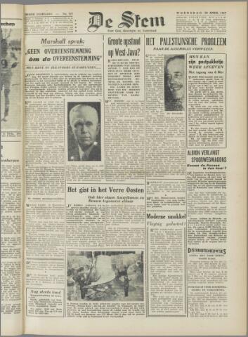 de Stem 1947-04-30
