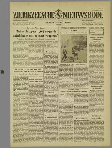 Zierikzeesche Nieuwsbode 1960-11-07
