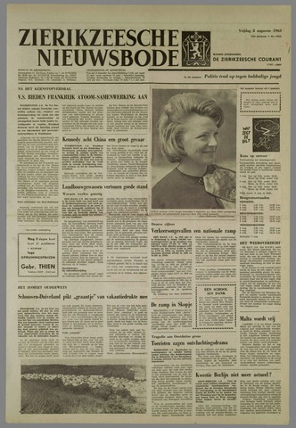 Zierikzeesche Nieuwsbode 1963-08-02