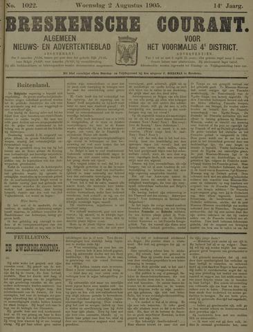 Breskensche Courant 1905-08-02