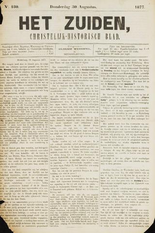 Het Zuiden, Christelijk-historisch blad 1877-08-30