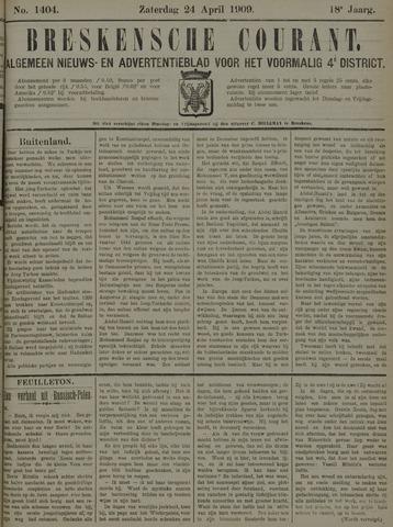 Breskensche Courant 1909-04-24