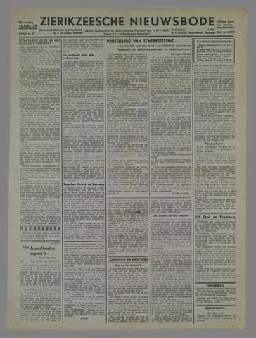 Zierikzeesche Nieuwsbode 1944-02-16