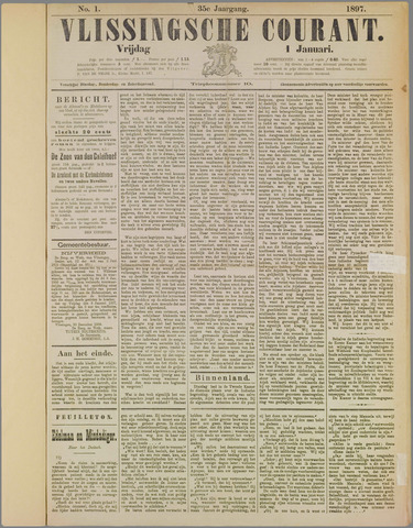 Vlissingse Courant 1897