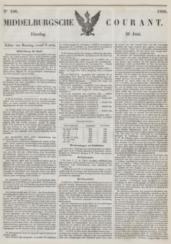 Middelburgsche Courant 1866-06-26