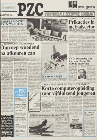 Provinciale Zeeuwse Courant 1985-04-03