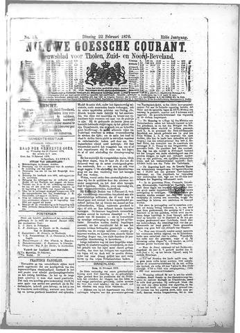 Nieuwe Goessche Courant 1876-02-22